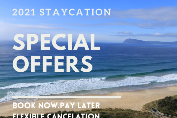 Bruny Island Vacations Special Offers